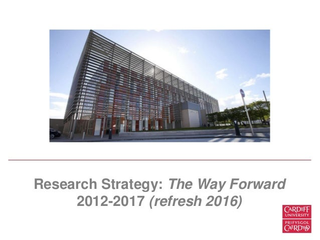 Cardiff university international strategy
