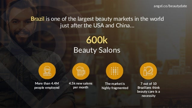 500's Demo Day Batch 17 >> BeautyDate Slide 2