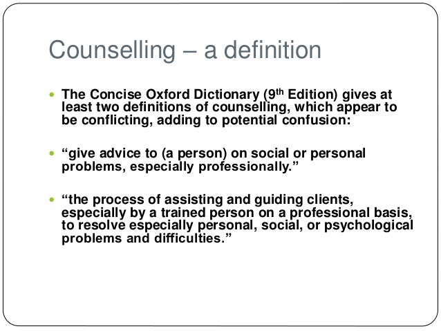 D2 counselling