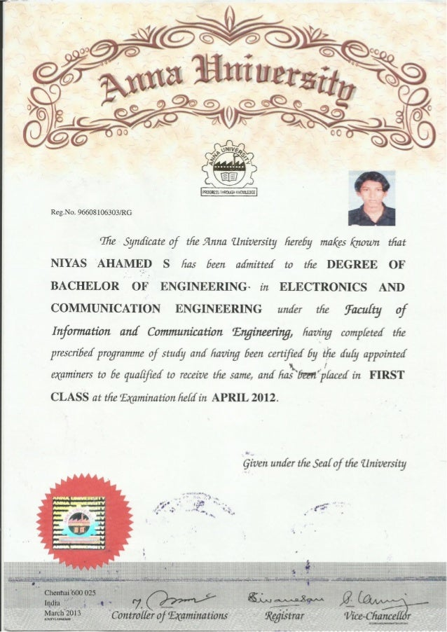 Degree certificate be degree certificate yadclub Choice Image