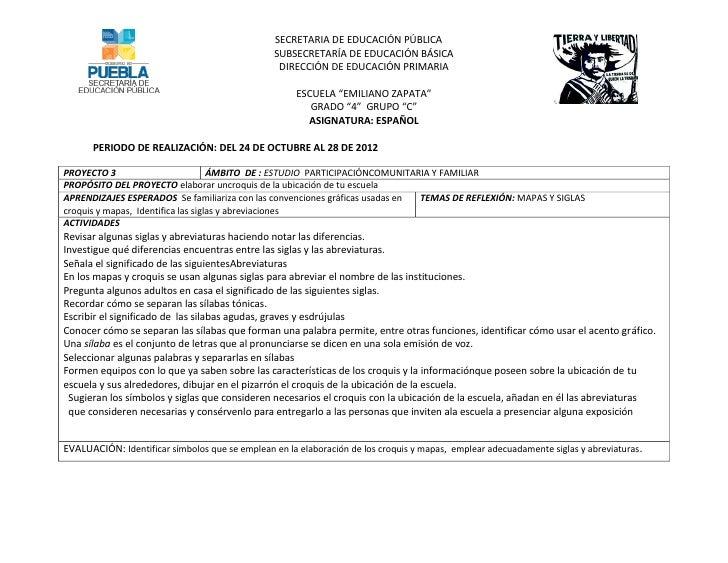 SECRETARIA DE EDUCACIÓN PÚBLICA                                                SUBSECRETARÍA DE EDUCACIÓN BÁSICA          ...