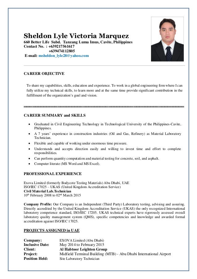 what is a resume cv file