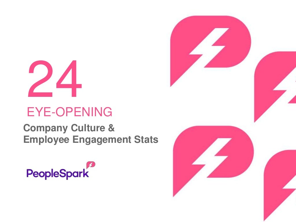 24 eye-opening company culture & employee engagement stats