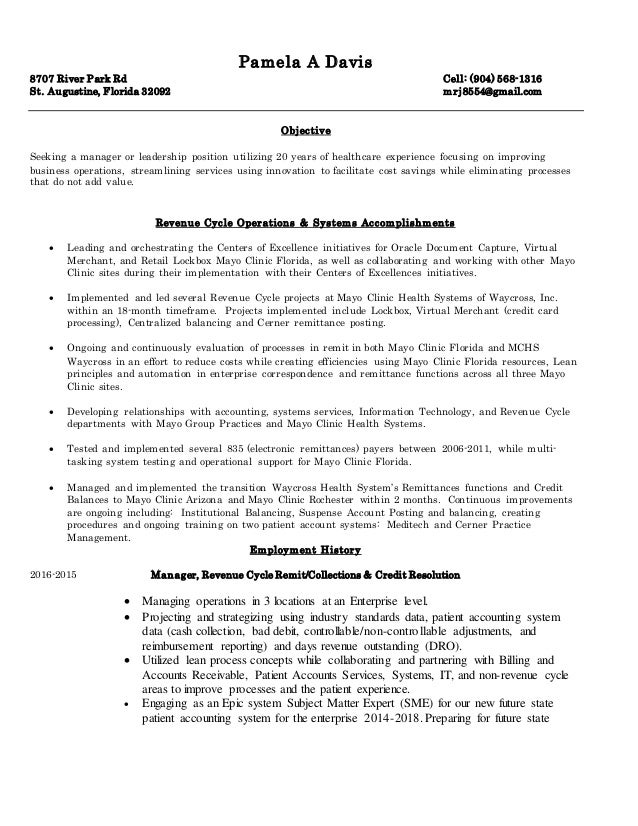 PamDavis Resume
