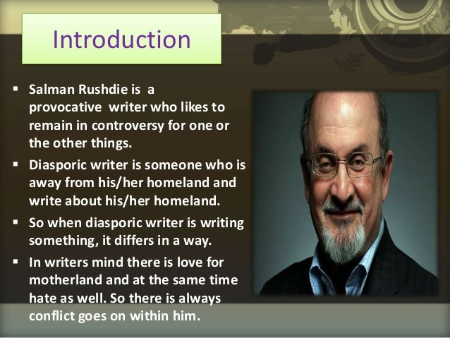 essays on shame by salman rushdie View and download salman rushdie essays examples also discover topics, titles, outlines, thesis statements, and conclusions for your salman rushdie essay.