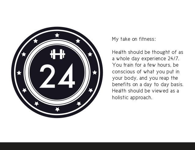 43 My Take On Fitness Health