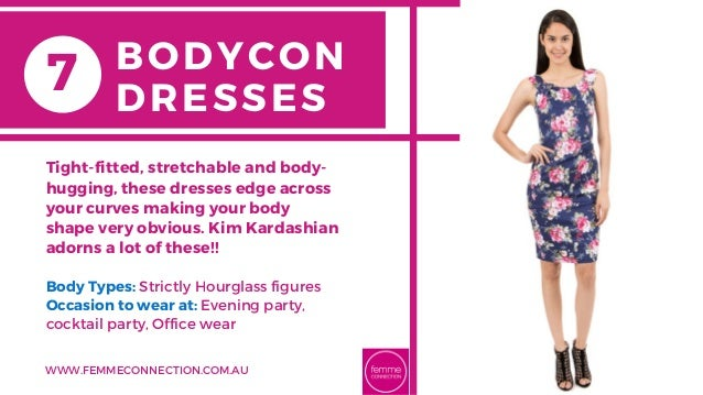Body Types: Strictly Hourglass figures Occasion to wear at: Evening party, cocktail party, Office wear Tight-fitted, stret...