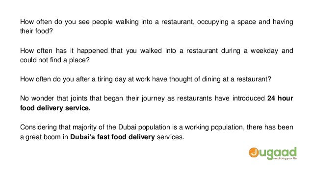 Hour Fast Food Delivery Dubai