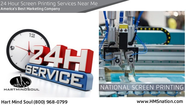 24 Hour Screen Printing