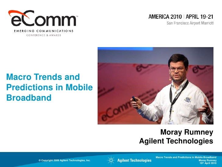 Moray Rumney's  Presentation at Emerging Communication Conference & Awards 2010 America Slide 2