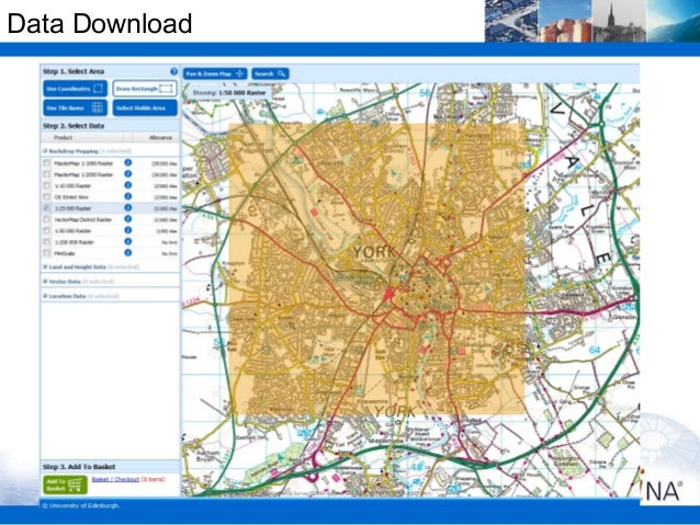 Introduction to Digimap's Ordnance Survey Collection