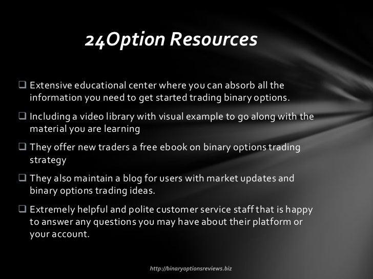 Binary option trading api