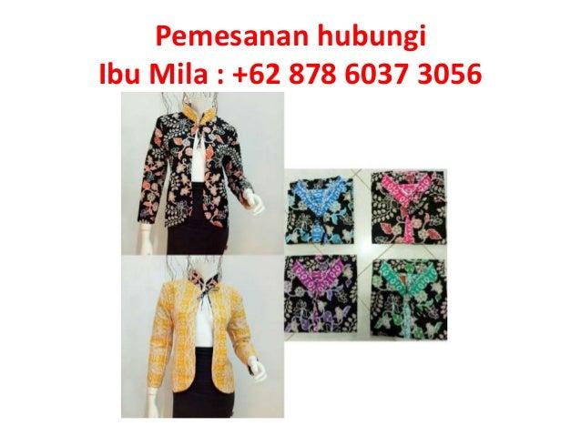 Pemesanan Hub 62 878 6037 3056 Baju Batik Couple Anak Muda Modern