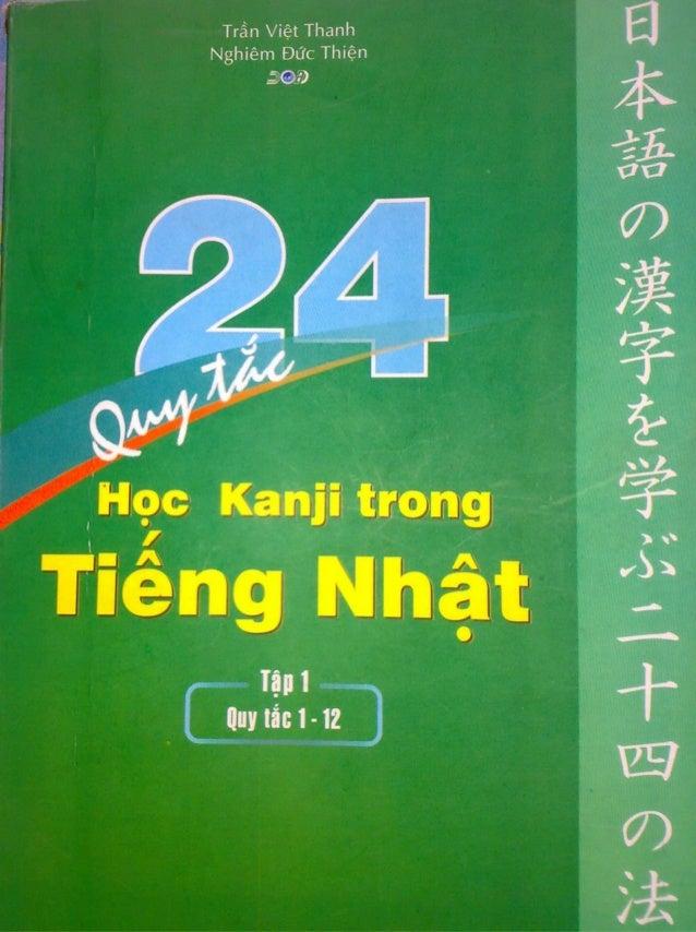 24 quy tac hoc kanji i
