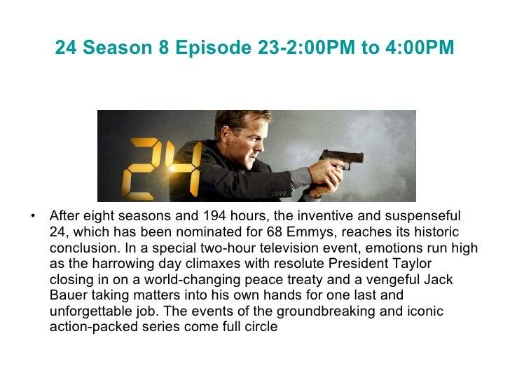 24 season 8 episode 23