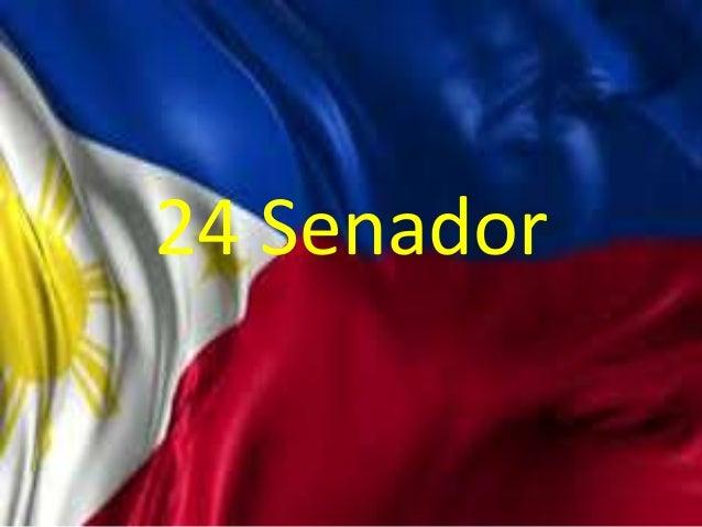 Dating senador ng pilipinas