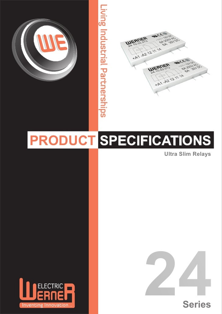 Living Industrial PartnershipsPRODUCT SPECIFICATIONS                                         Ultra Slim Relays            ...