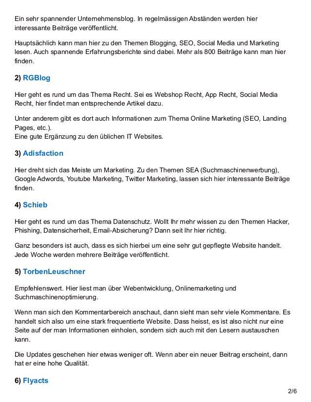 24 Top IT Blogs im deutschsprachigen Raum Slide 2