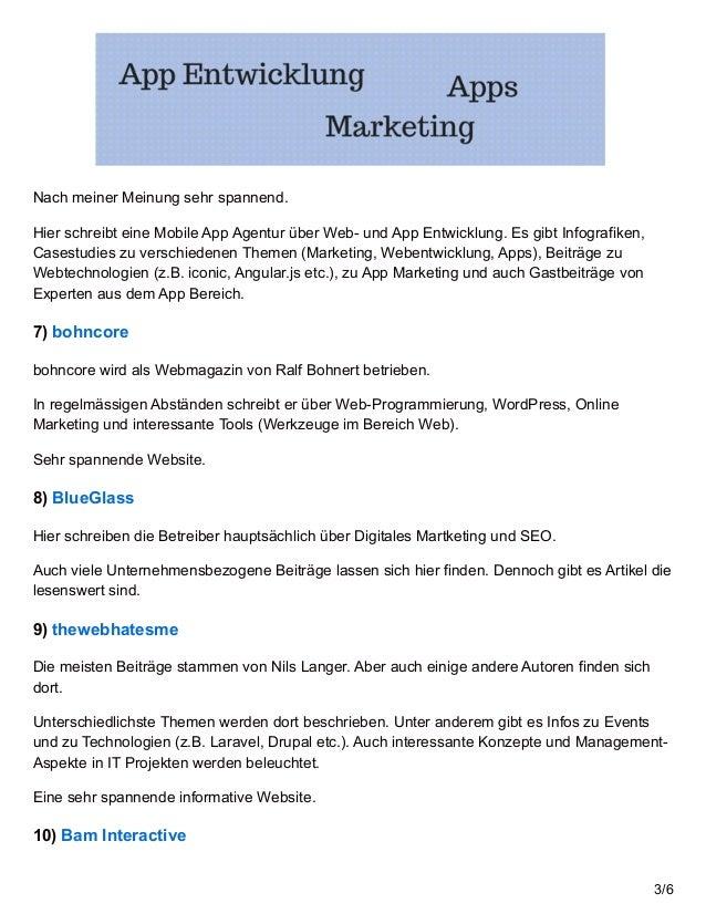 24 Top IT Blogs im deutschsprachigen Raum Slide 3