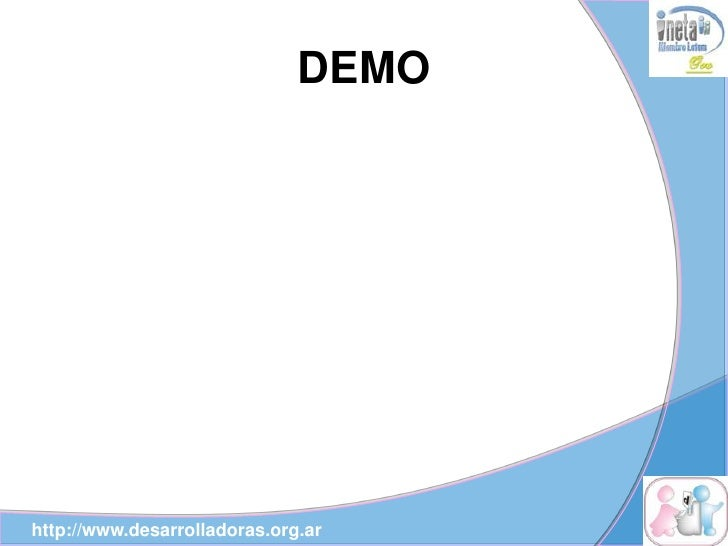 DEMO     http://www.desarrolladoras.org.ar