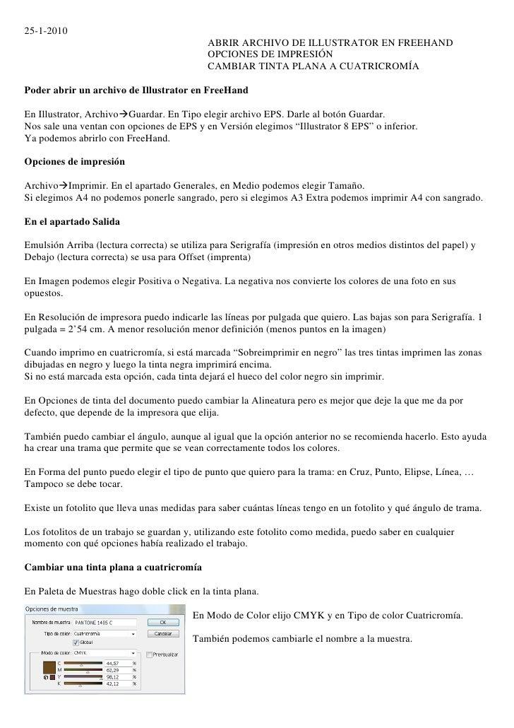 25-1-2010                                              ABRIR ARCHIVO DE ILLUSTRATOR EN FREEHAND                           ...