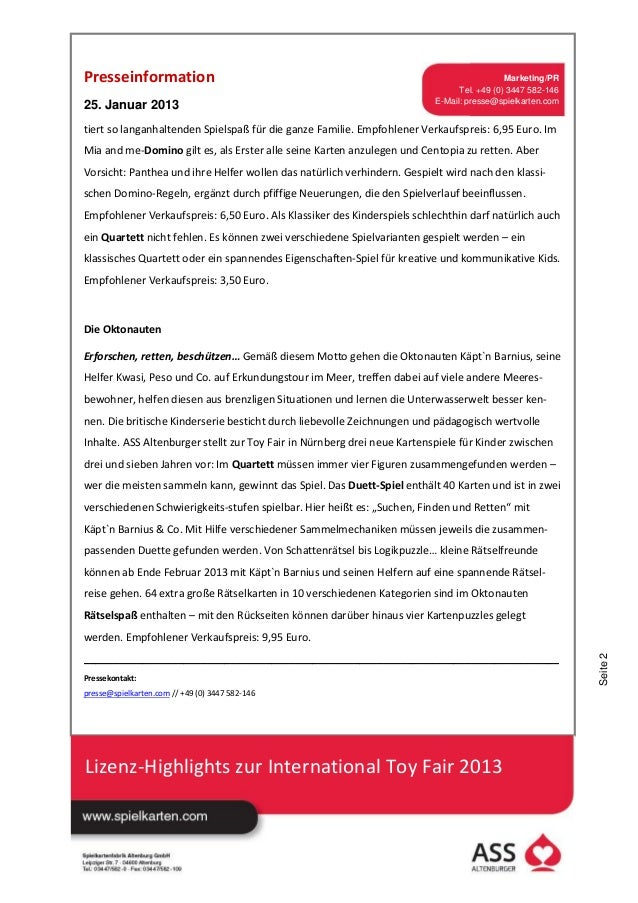 25. Januar 2013_ASS Altenburger Vorschau Toy Fair.pdf Slide 2