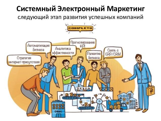 Системный Электронный Маркетинг следующий этап развития успешных компаний