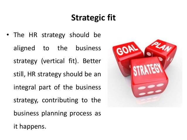 strategic fit process