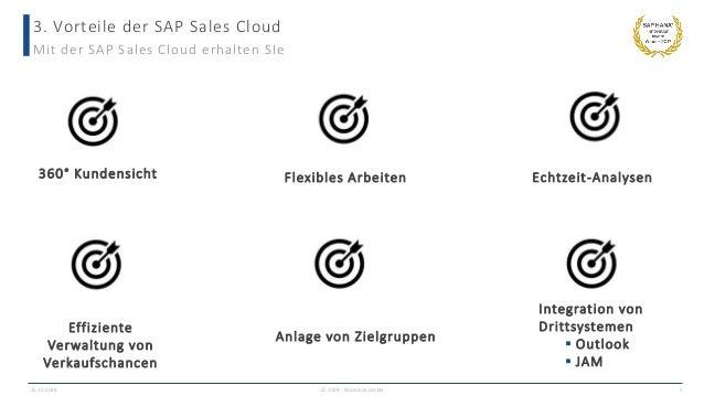3. Vorteile der SAP Sales Cloud 25.10.2018 © 2018 - IBsolution GmbH 5 Mit der SAP Sales Cloud erhalten SIe 360° Kundensich...
