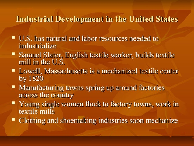 25 3 industrialization spreads rh slideshare net