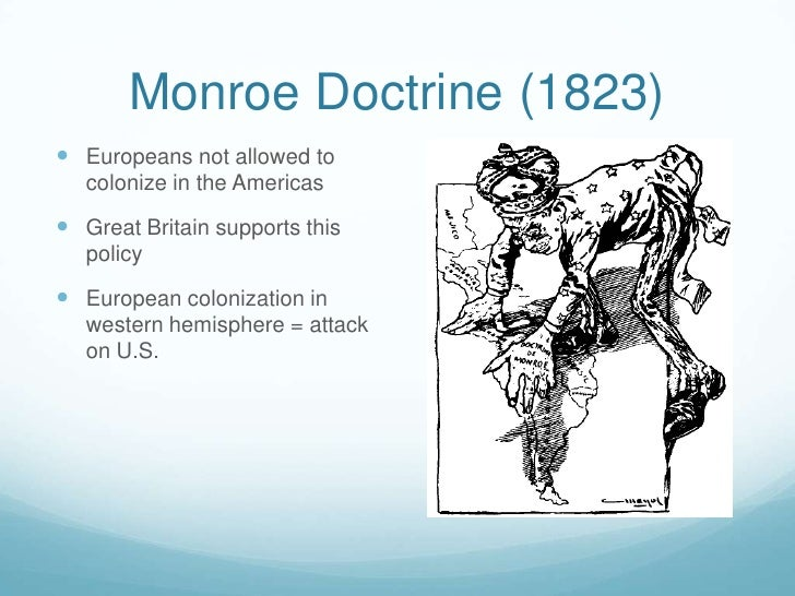 monroe doctrine and us latin america relations China has made its interest in latin america as a trade latin america increases relations in latin america going back to the monroe doctrine.