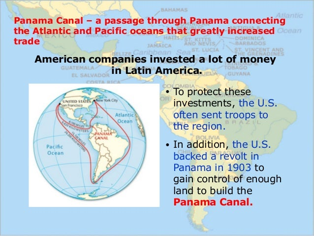 us imperialism in latin america essay Large-scale immigration from latin america to the united states grew papers circulated south america us citizens advocating imperialism in the pre.