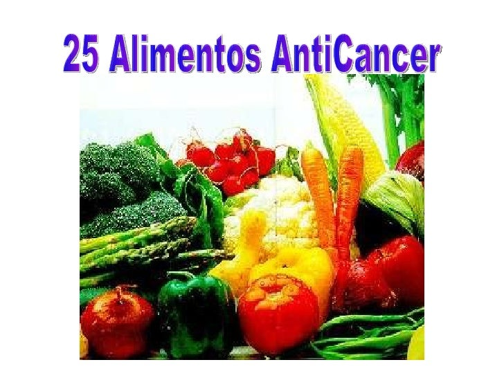 25 Alimentos AntiCancer
