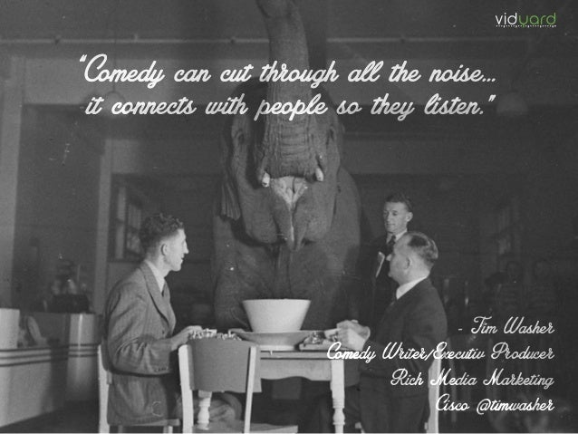 """Comedy can cut through all the noise… it connects with people so they listen."" ""Comedy can cut through all the noise… it ..."