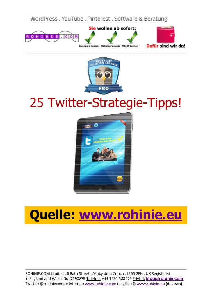 25 Twitter-Strategie-Tipp...