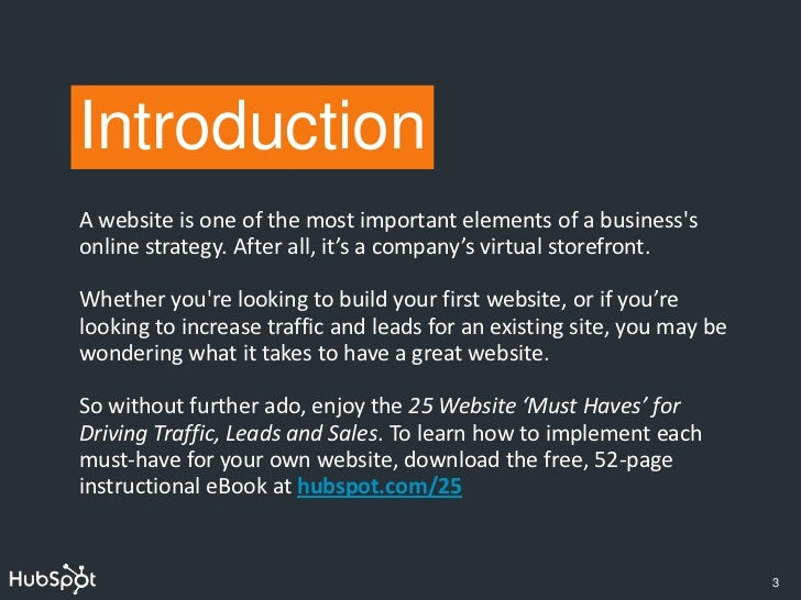 25 Must-Haves for a Great Website Slide 3