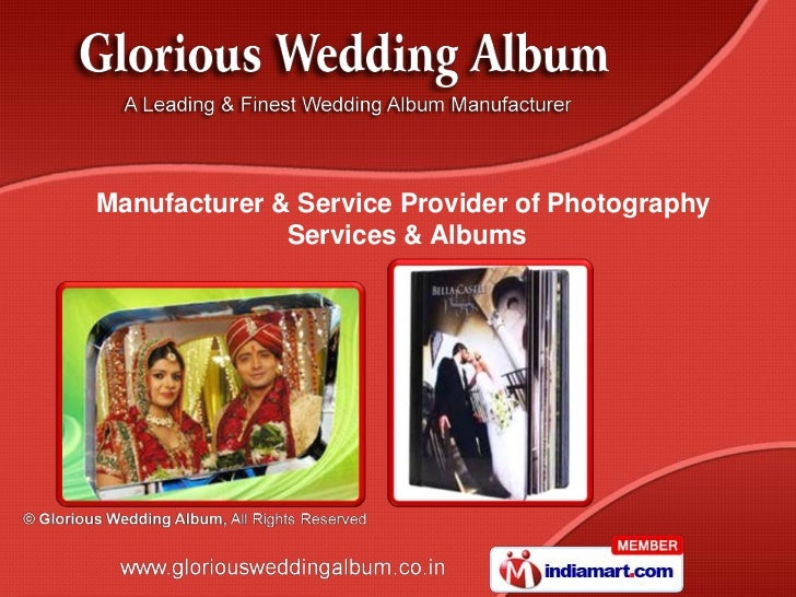 Manufacturer & Service Provider of Photography              Services & Albums