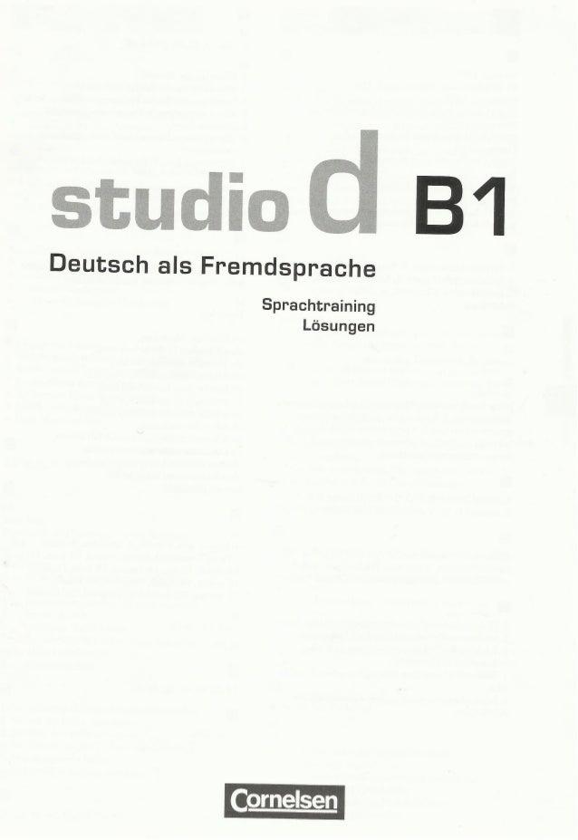 studio d b1 sprachtraining losungen pdf
