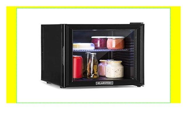 Kleiner Kühlschrank Edelstahl : Klarstein brooklyn l kühlschrank mit glastür u mini kühlschrank u u
