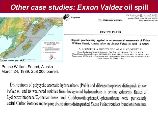 exxon valdez case study I background information/ additional perspective problems often come and go in every organization, it's already a cycle but in truth, not all the.