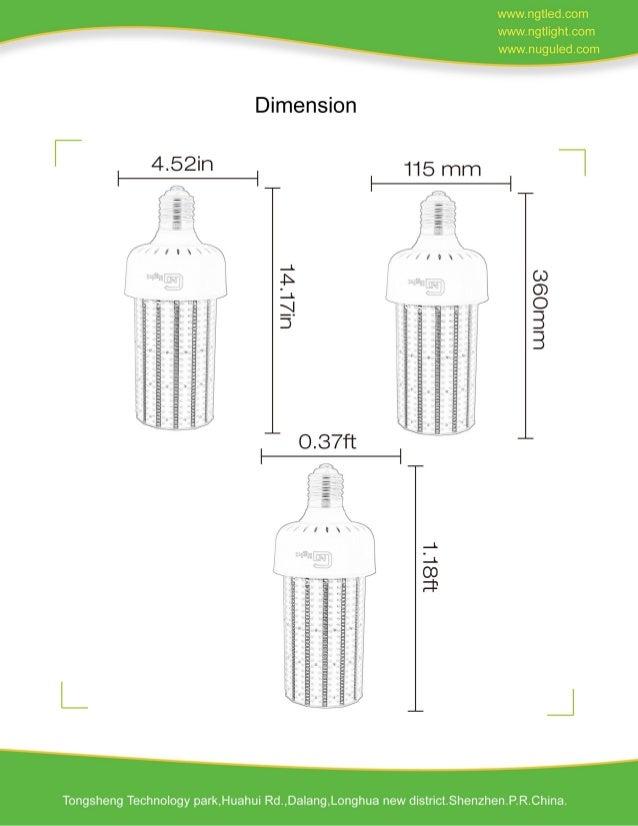 500W led light bulb -www.ngtlight.com Slide 2