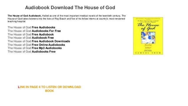 house of god book pdf free