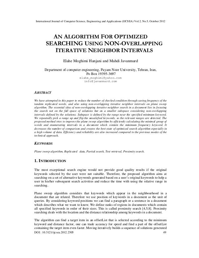 International Journal of Computer Science, Engineering and Applications (IJCSEA) Vol.2, No.5, October 2012 DOI : 10.5121/i...