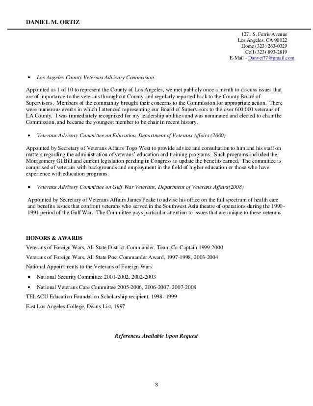 veteran resume - Veteran Resume Builder