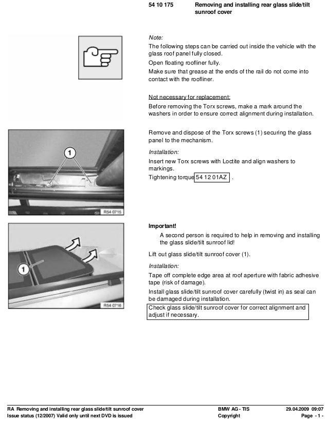 251925966 master-ra-replacing-seal-for-slide-tilt-sunroof-frame