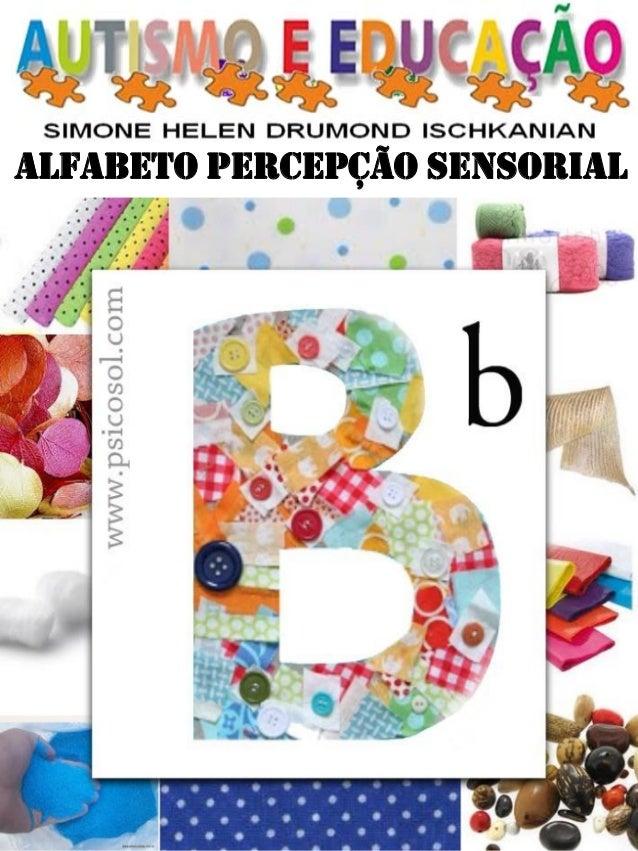 ALFABETO PERCEPÇÃO SENSORIAL