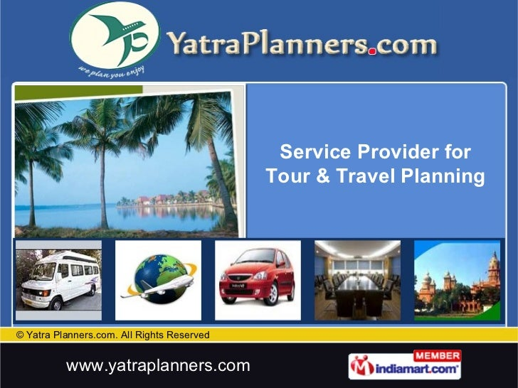 Service Provider for Tour & Travel Planning