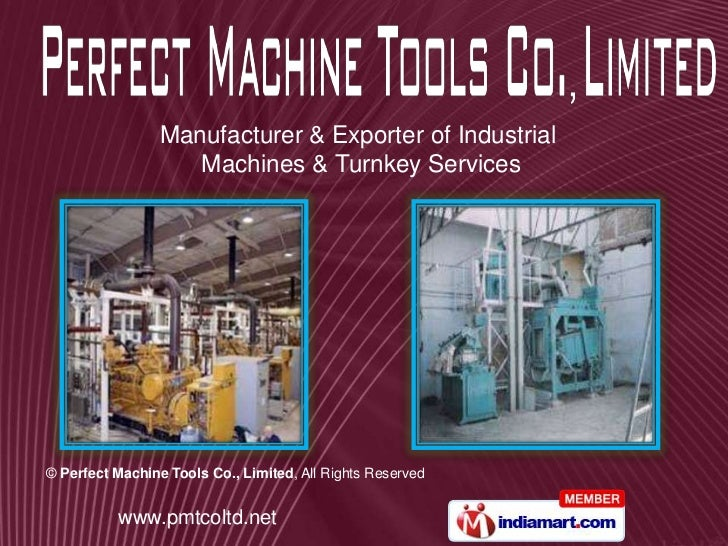 Manufacturer & Exporter of Industrial<br />Machines & Turnkey Services<br />