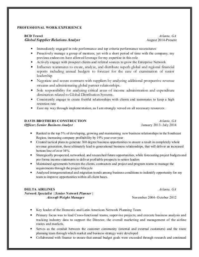 vincent c copeland resume