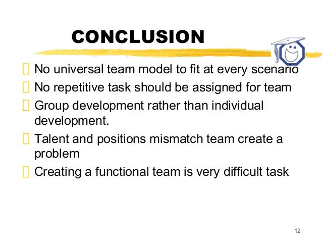 team building conclusion